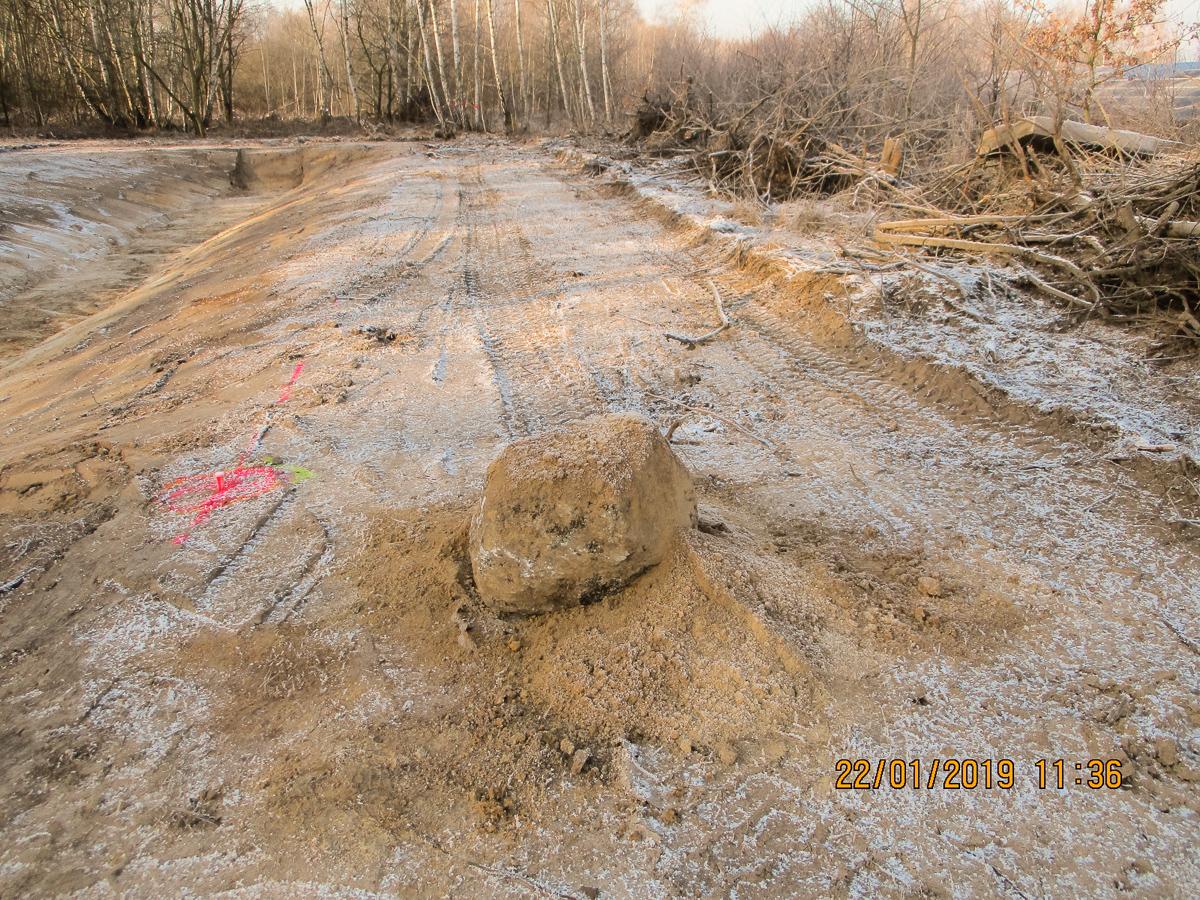 Bild 1 - Erschließung des Baugebietes