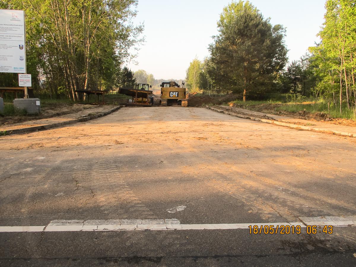 Bild 12 - Erschließungsstraße Wendehammer - 3