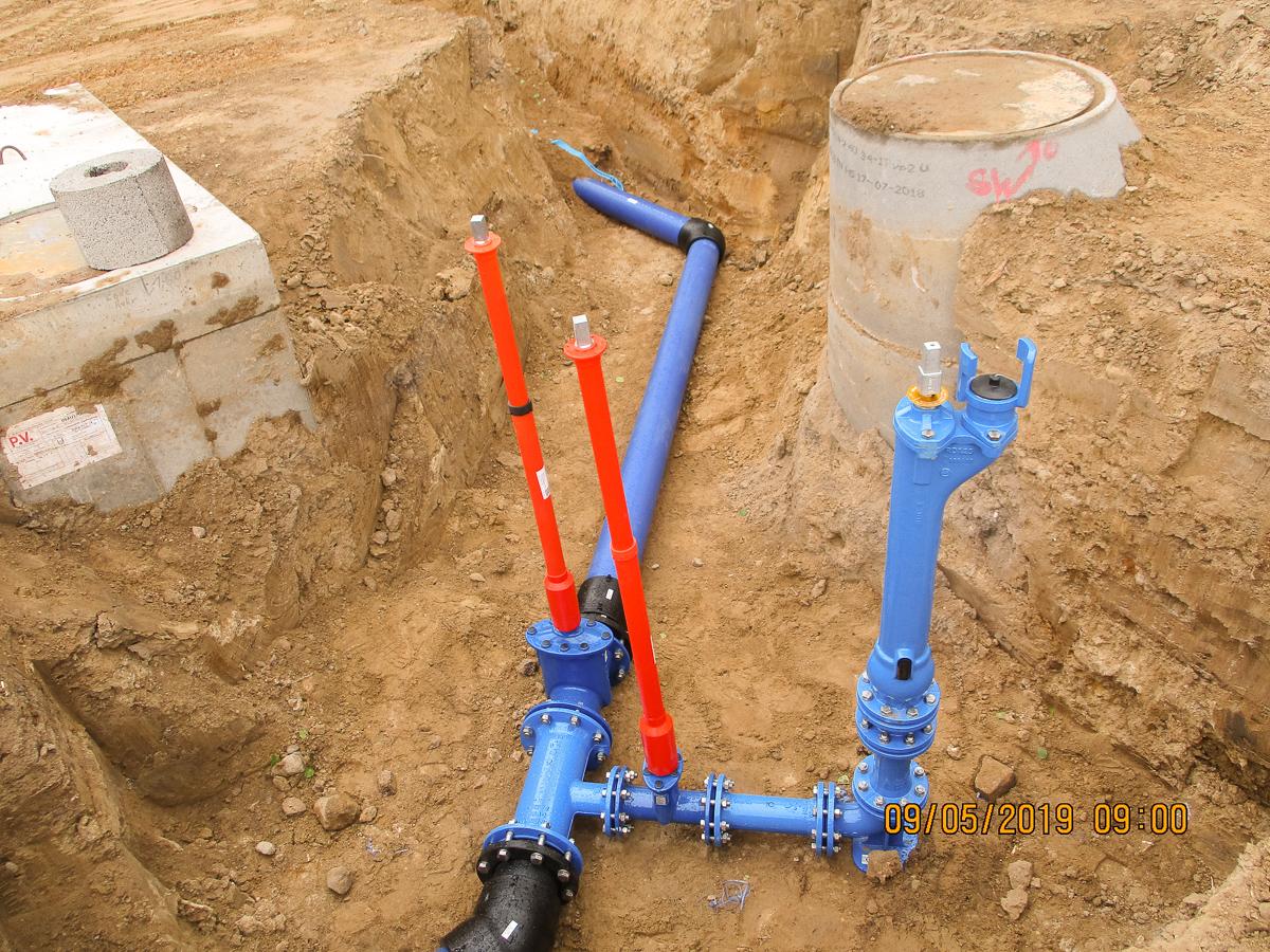 Bild 5 - Trinkwasserleitung -1