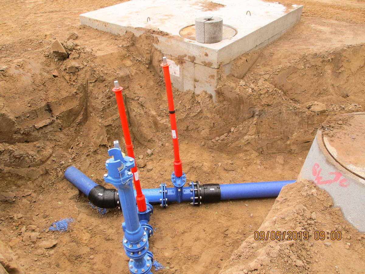 Bild 6 - Trinkwasserleitung -2