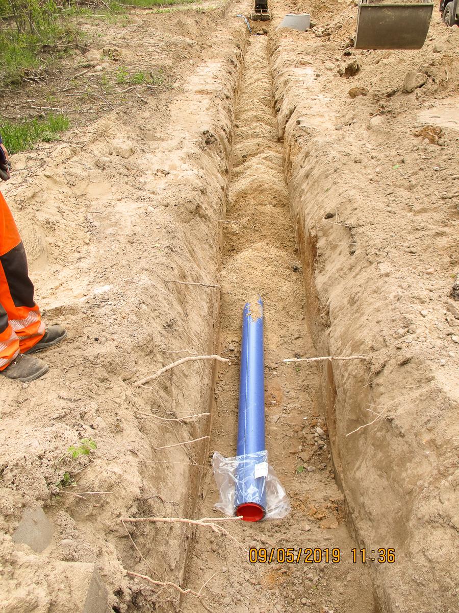 Bild 7 - Trinkwasserleitung -3